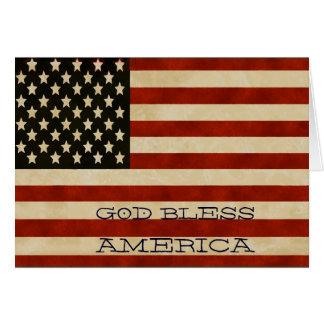 De vintage Amerikaanse GIFTEN van de Vlag Briefkaarten 0