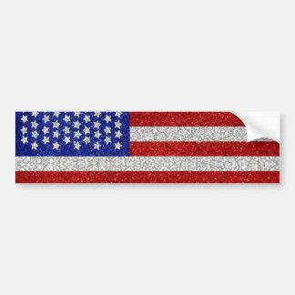 De vintage Amerikaanse Sticker van de Bumper van