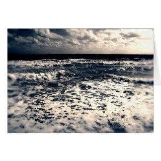 De vintage Atlantische Oceaan Kaart