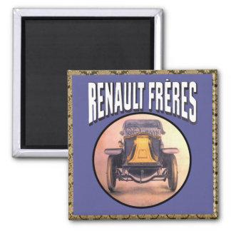 De Vintage Auto van de Broers van Renault Magneet