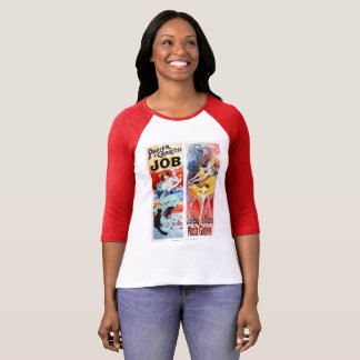 De vintage Bal van Frankrijk van het Vermaak van T Shirt