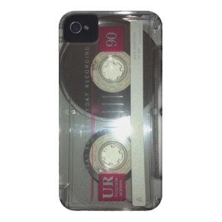 De vintage Band van de Cassette - maak schoon iPhone 4 Hoesje