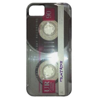 De vintage Band van de Cassette - Mixtape Barely There iPhone 5 Hoesje