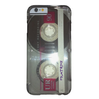 De vintage Band van de Cassette - Mixtape Barely There iPhone 6 Hoesje