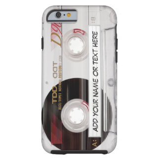 De vintage Band van de Cassette ziet - Grappig Tough iPhone 6 Hoesje
