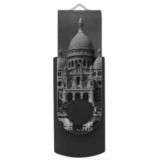 De vintage Basiliek van Frankrijk Parijs Sacre