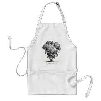 De vintage Bloem van de Hydrangea hortensia Standaard Schort
