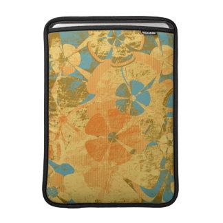 De vintage BloemenLucht van Macbook van de Mode MacBook Air Beschermhoezen