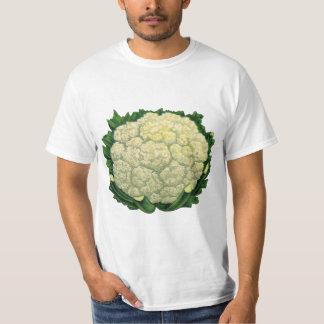 De vintage Bloemkool van Veggies van de Groenten T Shirt