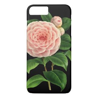 De vintage Botanische Bloesem van de Camelia iPhone 8/7 Plus Hoesje