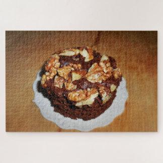De vintage Brownie van de Okkernoot Legpuzzel