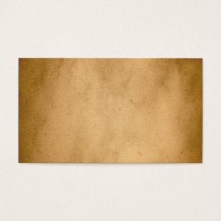 De vintage Bruine Gele Achtergrond van het Visitekaartjes