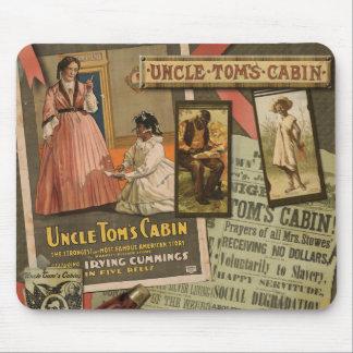 De vintage Cabine Mousepad van Oom Tom Muismat