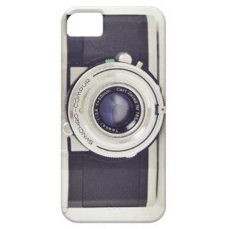 De vintage camera van Contaflex Barely There iPhone 5 Hoesje