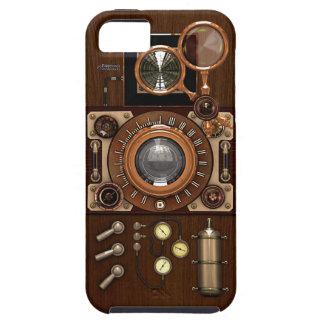 De vintage Camera van Steampunk TLR iPhone 5 Case-Mate Hoesje