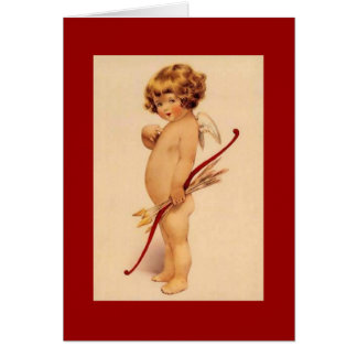 De vintage Cherubijn van Valentijn Briefkaarten 0