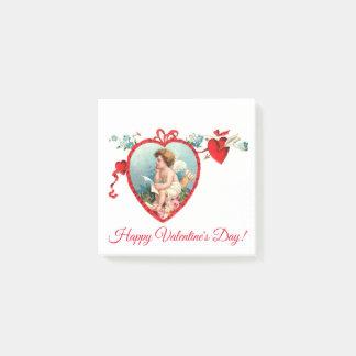De vintage Cupido van de Valentijnsdag Post-it® Notes