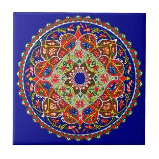 De vintage Decoratieve Tegel van het Ontwerp Keramisch Tegeltje
