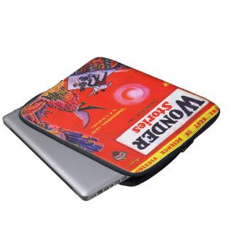 De vintage Dekking van het Boek - L Burkholder Laptop Sleeve