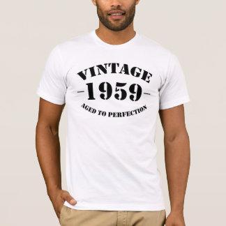 De vintage die Verjaardag van 1959 aan perfectie T Shirt