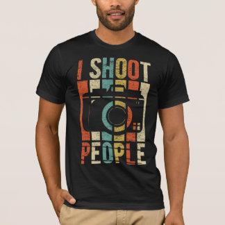 De vintage Fotograaf van de Mensen van de Spruit T Shirt