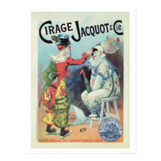 De vintage Franse advertentie van het Briefkaart