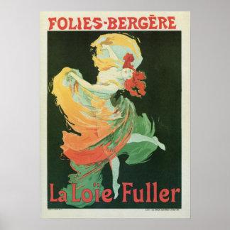 De vintage Franse Volledigere advertentie van Poster