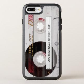 De vintage Grappige Band van de Cassette kijkt met OtterBox Symmetry iPhone 8 Plus / 7 Plus Hoesje