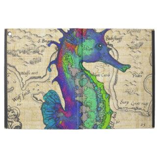 De Vintage Grappige Kaart van Seahorse