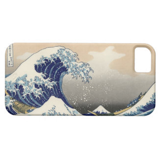 De Vintage, Grote Golf van PixDezines, Hokusai Barely There iPhone 5 Hoesje
