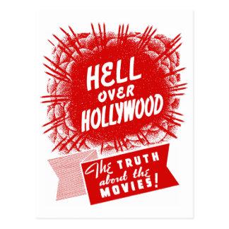 De Vintage Hel van de kitsch over Hollywood Briefkaart
