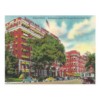 De vintage Hete Lentes Arkansas Briefkaart