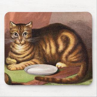 De Vintage Illustratie van de Kat van de Muismat