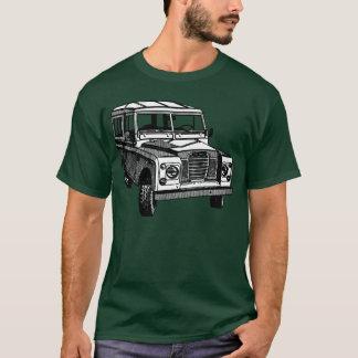 De vintage illustratie van Land Rover T Shirt