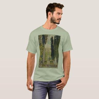 De vintage Italiaanse advertentie Tivoli Lazio T Shirt