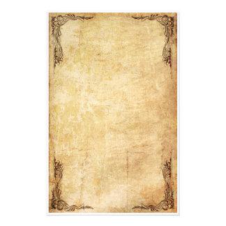 De vintage Kantoorbehoeften van de Werveling Briefpapier