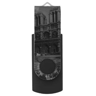De vintage Kathedraal van Frankrijk Parijs Notre