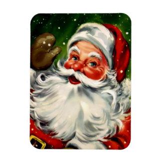 De vintage Kerstman buigt Magneet