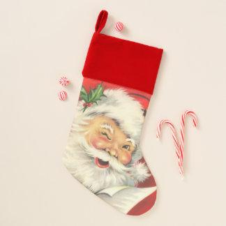 De vintage Kerstman Kerstsok