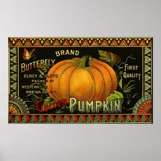 De vintage Kunst van het Etiket van het Product; D Plaat