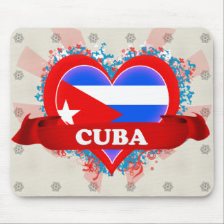 De vintage Liefde Cuba van I Muismat