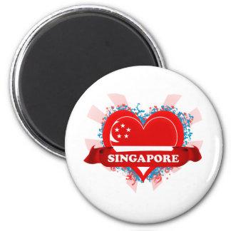 De vintage Liefde Singapore van I Magneet