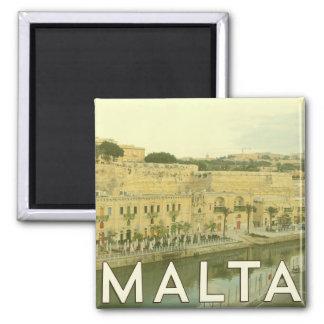 De vintage Magneet van Malta
