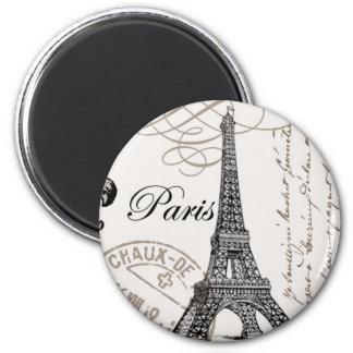 De vintage magneet van Parijs…