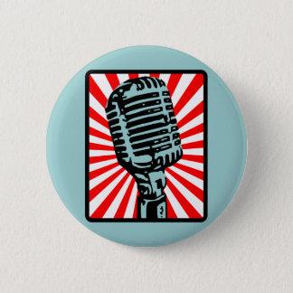 De Vintage Microfoon van Shure 55S Ronde Button 5,7 Cm