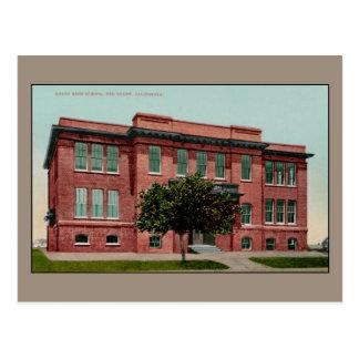 De vintage Middelbare school van de Unie, Rode Briefkaart