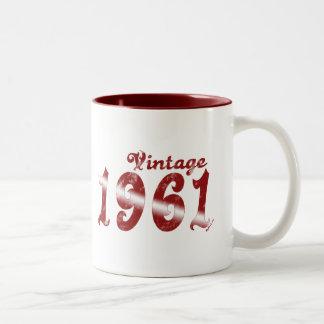 De vintage Mok van 1961