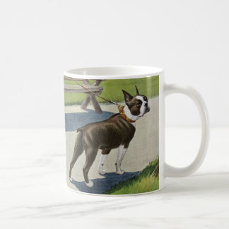 De Vintage Mok van Boston Terrier