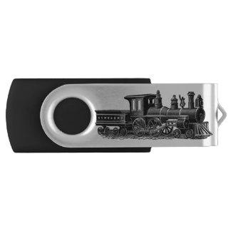 De vintage Motor van de Stoom Swivel USB 3.0 Stick