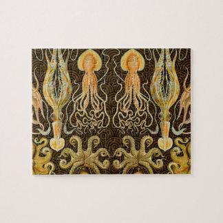 De vintage Octopus van de Pijlinktvis van Foto Puzzels